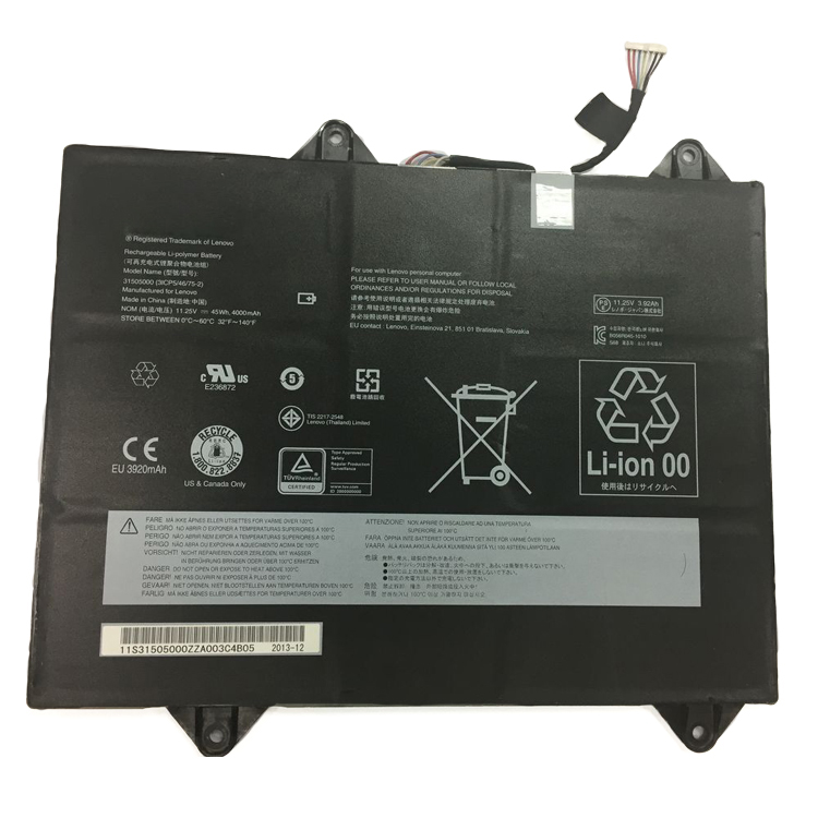 Lenovo Thinkpad 31505000… accu